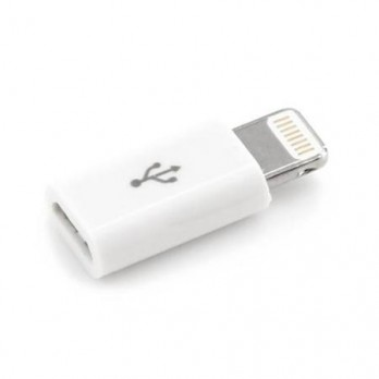 Переходник Micro USB/Lighting