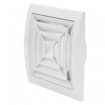 Вентиляционная регулируемая решетка потолочная Europlast ND15GR