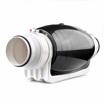 Канальний вентилятор Binetti FDS-125 Silent (+ adaptor 100/125)